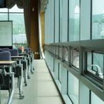 Modern Classroom Idea with Vinyl Flooring.