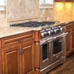 Modern Kitchen Remodel and Design with Quartz Countertops and Wooden Cabinets