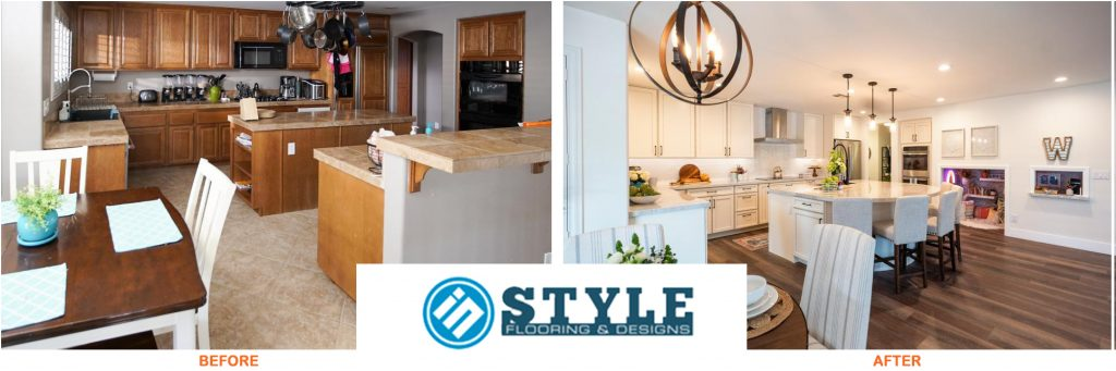 before and after property brothers kitchen