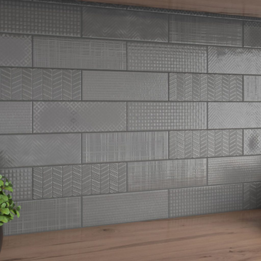 Staggered Stack Multi Texture Tiles